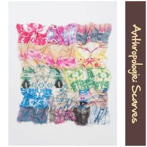 """Anthro """"Pieced Inspiration Scarf"""" by Lulla"""